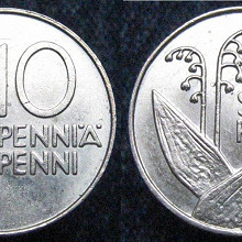Отдается в дар 10 пенни Финляндии