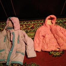Отдается в дар Куртки для девочек