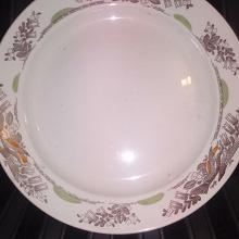 Отдается в дар Большая тарелка СССР
