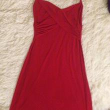 Отдается в дар Платье красное, размер 40.