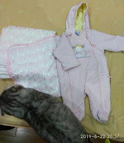 Отдается в дар «Комбинезон для девочки до 3 месяцев»