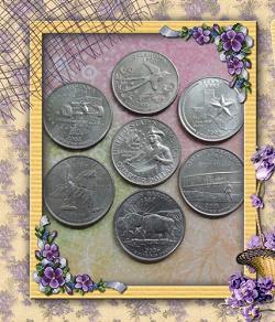 Отдается в дар «Монеты США»
