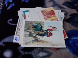 Отдается в дар «Стопка советских открыток»