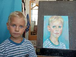 Отдается в дар «Рисую и дарю портреты»