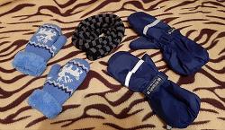 Отдается в дар «Варежки и шарф для мальчика 5-6 лет»