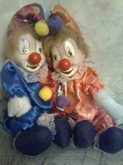 Отдается в дар «Марионетки Клоуны»