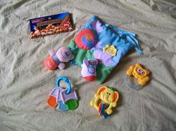 Отдается в дар «игрушки для самых маленький»