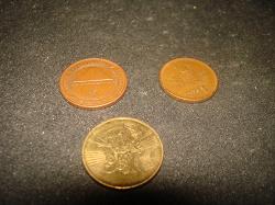 Отдается в дар «монеты 11.04.2021»