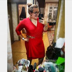 Отдается в дар «Вечернее платье, 56 размер»