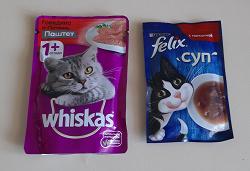 Отдается в дар «Корм для кошек»