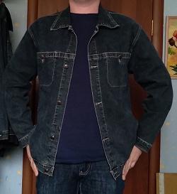 Отдается в дар «Мужская джинсовая курточка»