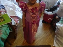 Отдается в дар «платье рапунсель»