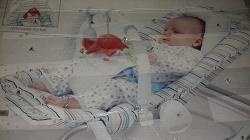 Отдается в дар «Шезлонг Люлька качалка переноска для малыша»