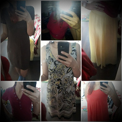 Отдается в дар «Пакет женской одежды»
