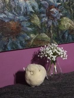 Отдается в дар «Фигурка овцы»