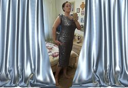 Отдается в дар «Платье вечернее 50-52 р-ра»