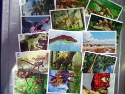 Отдается в дар «Наклейки динозавры»