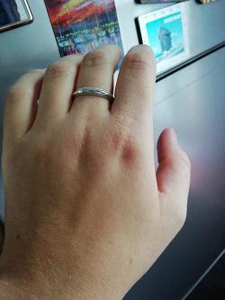 Отдается в дар «Новое серебряное кольцо»