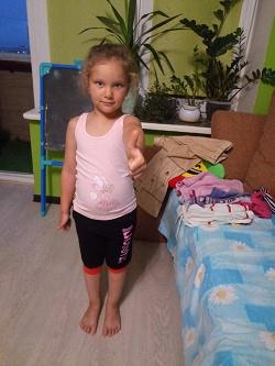 Отдается в дар «Пакет одежды для девочки 116-122 см»
