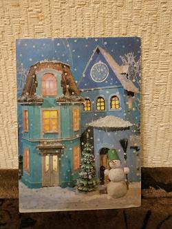 Отдается в дар «Праздничные кукольные открытки»