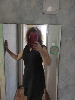 Отдается в дар «Платье в рубашечном стиле Mango»