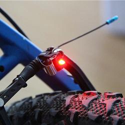 Отдается в дар «Светодиодный стоп-сигнал для велосипеда.»