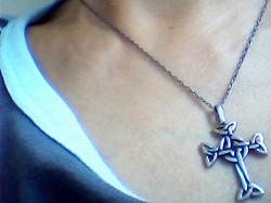 Отдается в дар «Кельтский крест. Серебро»