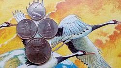 Отдается в дар «2 монетки с живностью»