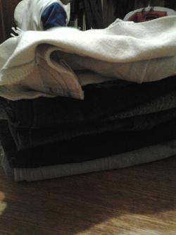Отдается в дар «Куски джинсовой ткани»