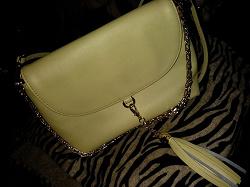 Отдается в дар «Летняя кожаная сумочка»