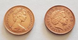 Отдается в дар «Британские пенни»
