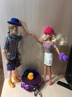 Отдается в дар «Шапочки для кукол.»