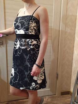 Отдается в дар «Кружевное платье бондо р. S»
