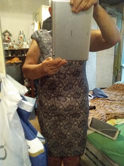 Отдается в дар «Платье новое 48-50»