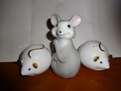 Отдается в дар «Фигурка мышка»