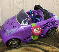 Отдается в дар «Машина кукол Монстер Хай»