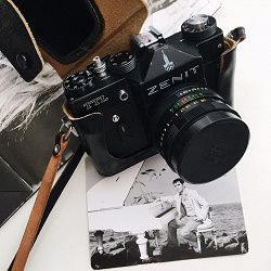 Отдается в дар «Фотоаппарат Zenit TTL»