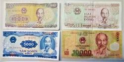 Отдается в дар «Боны, банкноты (деньги) Вьетнам»