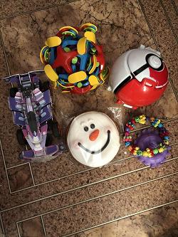 Отдается в дар «мелкие игрушки+Монстр Хай на запчасти»