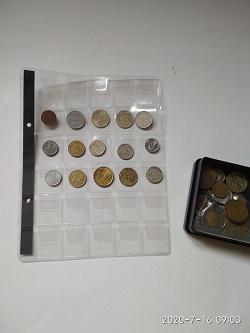 Отдается в дар «Лист для монет»