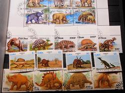 Отдается в дар «почтовая марка.куба.динозавры.1987»