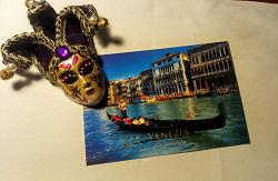 Отдается в дар «Посткроссинг — открытка с видом Венеции»