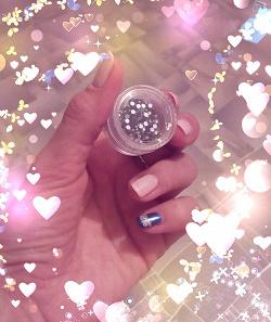 Отдается в дар «Стразы Для дизайна ногтей черные+серебряные»
