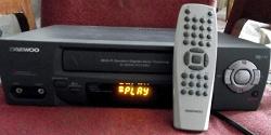 Отдается в дар «видеомагнитофон»