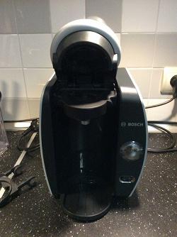 Отдается в дар «Капсульная кофеварка Bosch Tassimo»