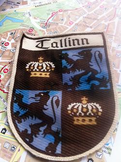 Отдается в дар «Нашивка Tallinn»