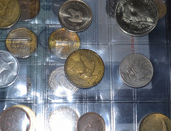Отдается в дар «монета Чили 10 сентесимо 1966 год»
