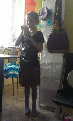 Отдается в дар «Одежда для девочки на рост 140-146»