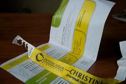 Отдается в дар «Пригласительный на intercharm»