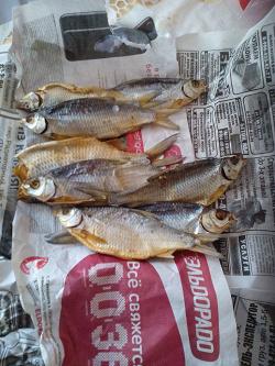 Отдается в дар «Сушеная «ржавая» рыба»